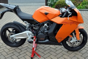 abba Superbike Stand on KTM RC8